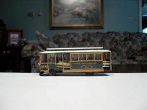Eureka Springs Trolley Bus, 1:87 Model